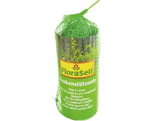 Síť pro popínavé rostliny 5 x 2 m zelená