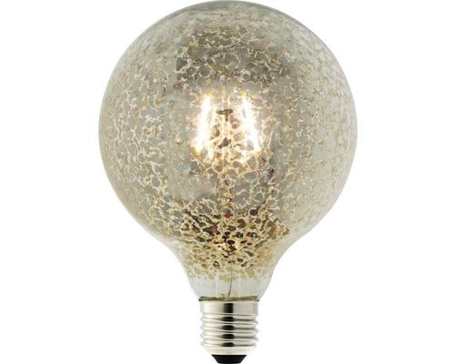 LED žárovka FLAIR Globe Vintage G125 E27 1W 60lm kouřová