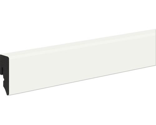 Podlahová lišta Neuhofer KU048L plastová 2400 x 38,5 x 15 mm bílá