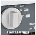 Elektrický topný ventilátor Einhell EH 2000