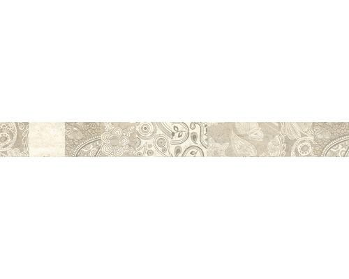 Listela Augusto Beige Orient 5,7x60 cm