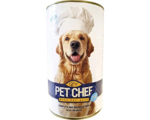 Konzerva pro psy PetChef hovězí 1240 g