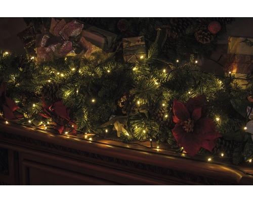 Světelný řetěz venkovní Lafiora 80 LED, teplé bílé světlo
