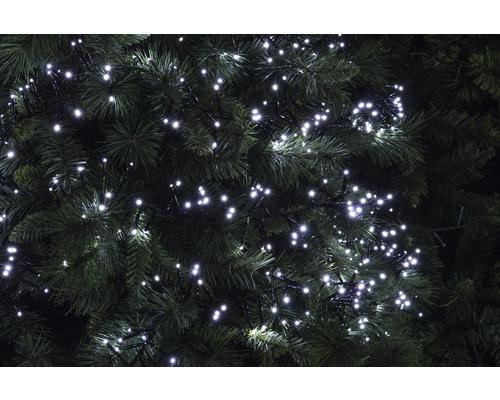 Světelný řetěz venkovní Lafiora 560 LED studené bílé světlo