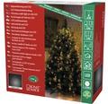 """Světelný řetěz """"plášť"""" na stromek Konstsmide 150 LED jantarové světlo"""