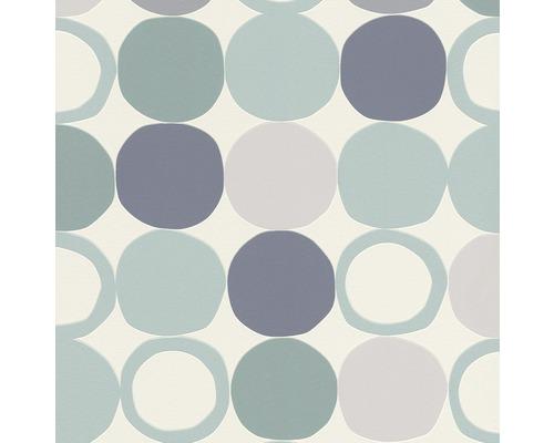 Vliesová tapeta Hotspot, motiv geometrický, bílá