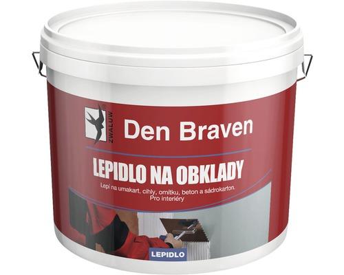 Disperzní lepidlo na obklady DEN BRAVEN D1E 1 kg bílé