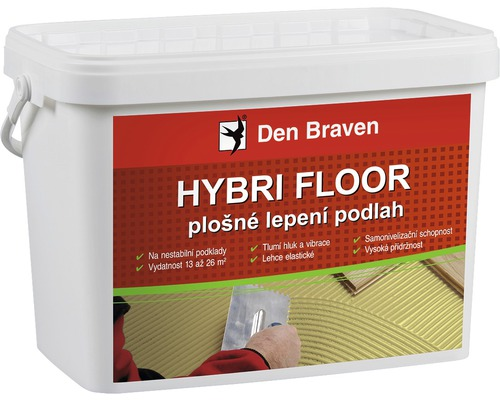 Lepidlo na parkety DEN BRAVEN Hybri Floor flexibilní 15 kg