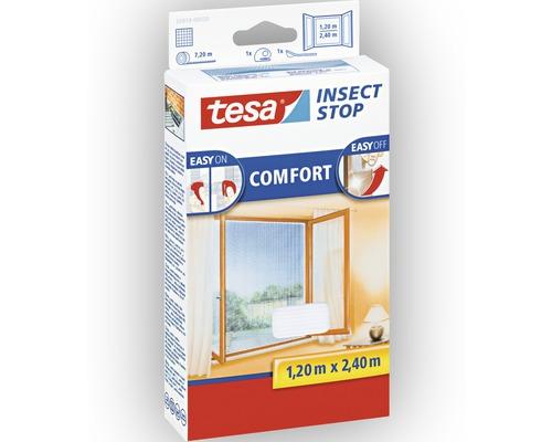 Síť proti hmyzu na francouzské okno, bílá, 1,2x2,4m