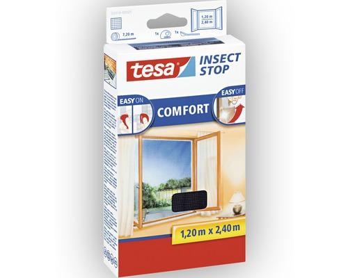 Síť proti hmyzu na francouzské okno, antracit, 1,2x2,4m