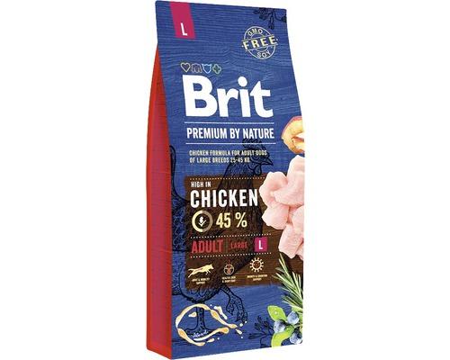 Granule pro psy Brit Premium by Nature Adult L 15 kg