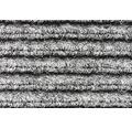 Vstupní čistící rohož, šedá, 1M