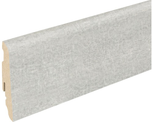 Soklová lišta Skandor Adana Wood šedá FU60L 19x58x2400 mm