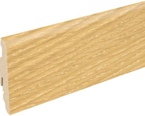 Soklová lišta Skandor dub šedý vápněný SU60L 19x58x2400 mm