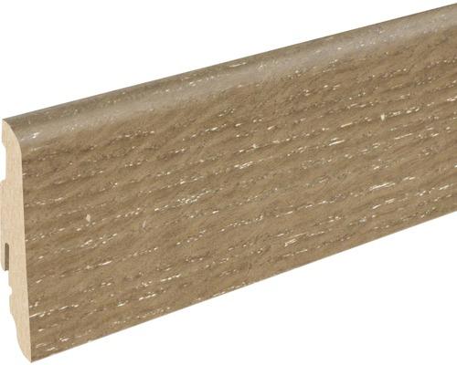 Soklová lišta Skandor dub smoked SU60L 19x58x2400 mm