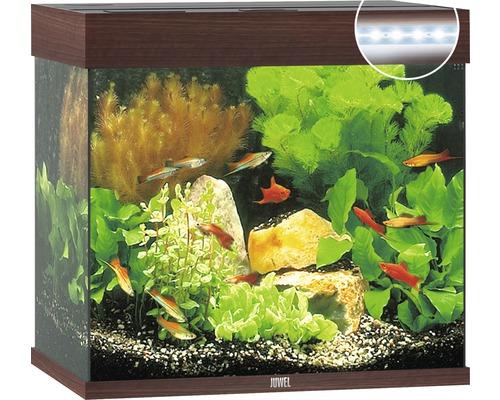 Akvarijní set JUWEL Lido 120 LED tmavě hnědý, 120 l