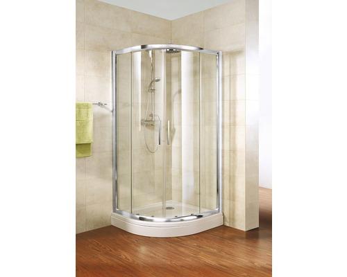 Sprchový kout Schulte Kristall/Trend R550 90x90 cm chrom