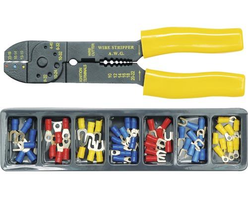 Konektorové kleště a konektory 100 ks