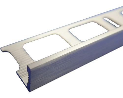 Lišta eloxovaný kartáčovaný hliník AL082 2500x8 mm
