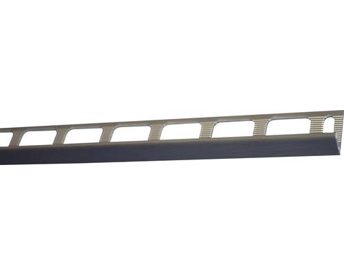 Lišta eloxovaný kartáčovaný hliník AL081 2500x8 mm