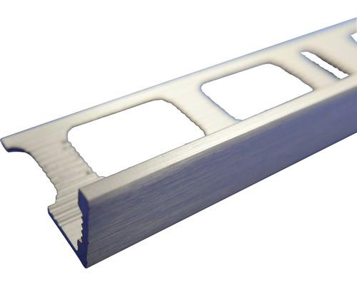 Lišta eloxovaný kartáčovaný hliník AL122 2500x12 mm