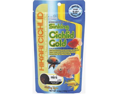 Krmivo pro cichlidy HIKARI Cichlid Gold sinking mini 100 g