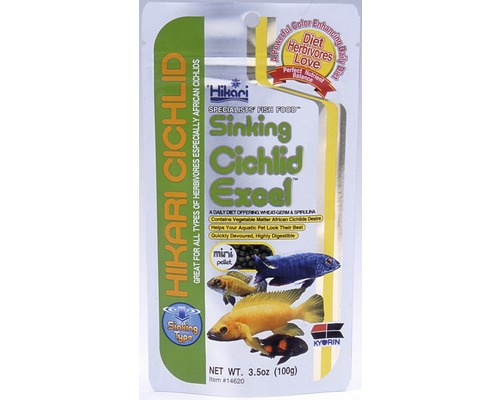 Krmivo pro cichlidy HIKARI Cichlid sinking Excel mini 100 g