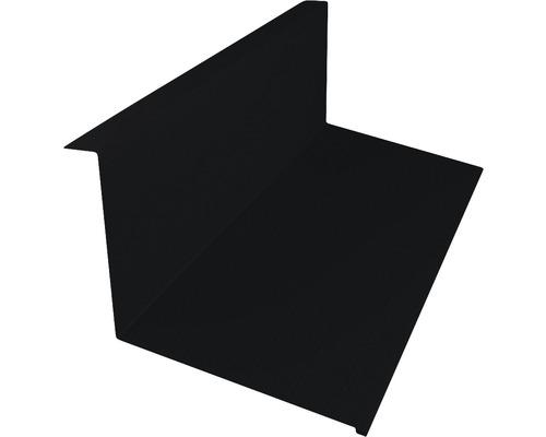 Krycí lišta PRECIT Big Stone 1000 mm oplechování ke zdi 9005 černá