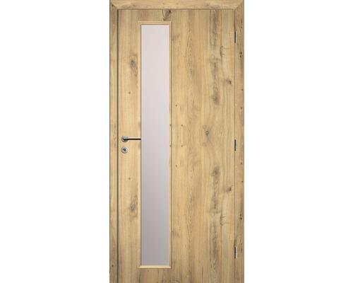 Interiérové dveře Solodoor Zenit 22 prosklené 70 P dub natur