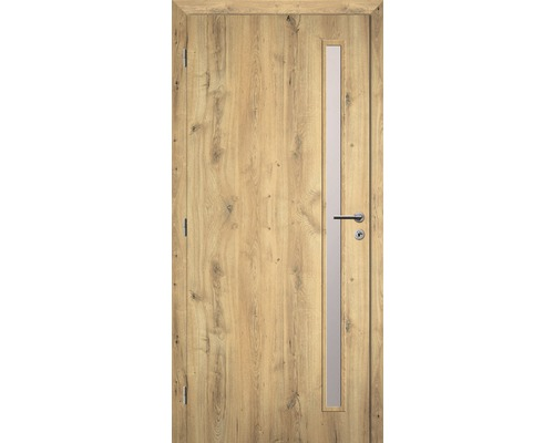 Interiérové dveře Solodoor Zenit 20 prosklené 70 L dub natur