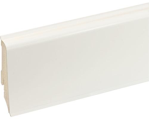 Podlahová lišta K0210L plastová 2400 x 59 x 17 mm bílá