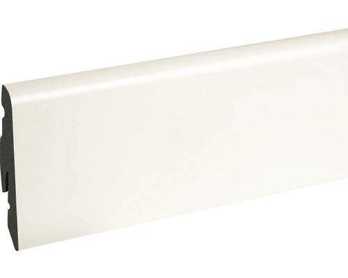 Soklová lišta bílá fóliovaná 14x58x2400 mm