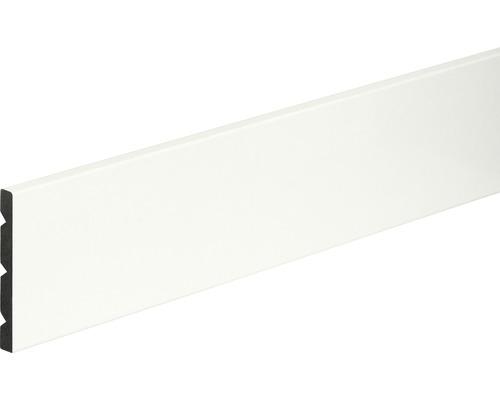 Soklová lišta PVC bílá lesklá 8x68x2400 mm