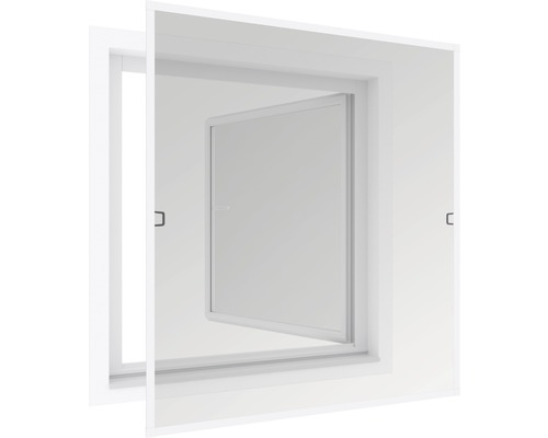 Okno se sítí tenké 120x150cm bílé