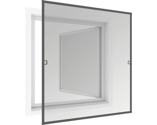 Okno se sítí tenké 120x150cm antracitové
