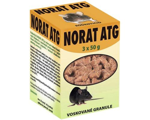 Norat ATG+EZ15 granule 150 g biocid na hubení myší, potkanů, krys