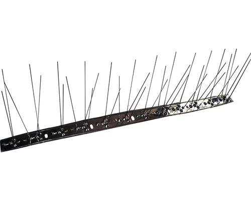 Hroty proti holubům 50x10cm, 36 hrotů nerez