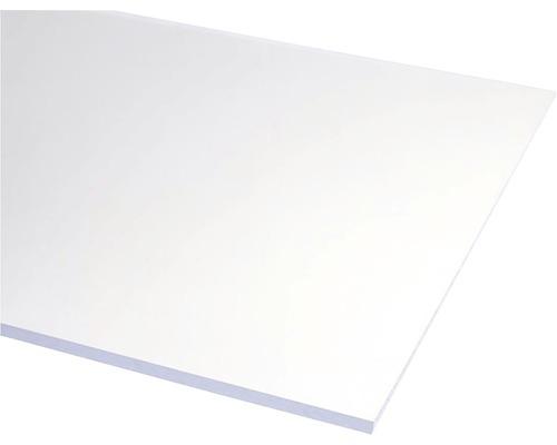 Plexisklo 1000 x 1000 x 4 mm polystyrol hladké čiré