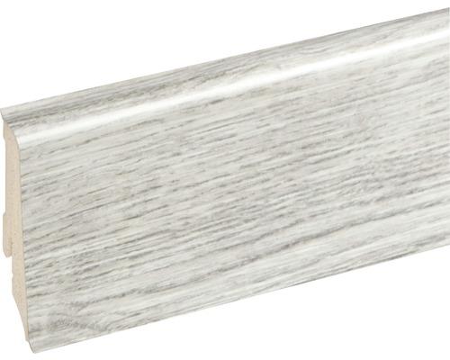 Podlahová lišta Neuhofer K0210L plastová 2400 x 59 x 17 mm EXEI096 dub brixen