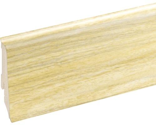 Podlahová lišta Neuhofer K0210L plastová 2400 x 59 x 17 mm EXEI099 dub vallees