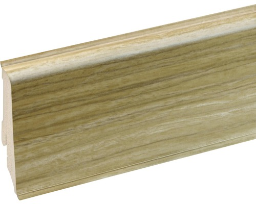 Podlahová lišta Neuhofer K0210L plastová 2400 x 59 x 17 mm EXEI097 dub verde