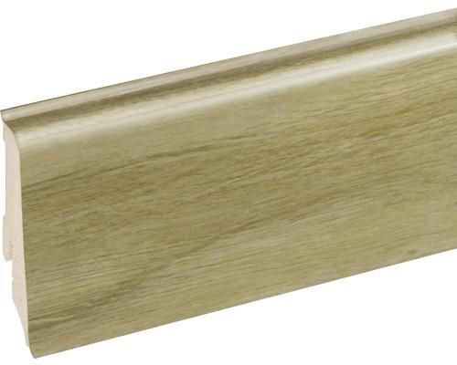 Podlahová lišta Neuhofer K0210L plastová 2400 x 59 x 17 mm EXEI102 dub bondone