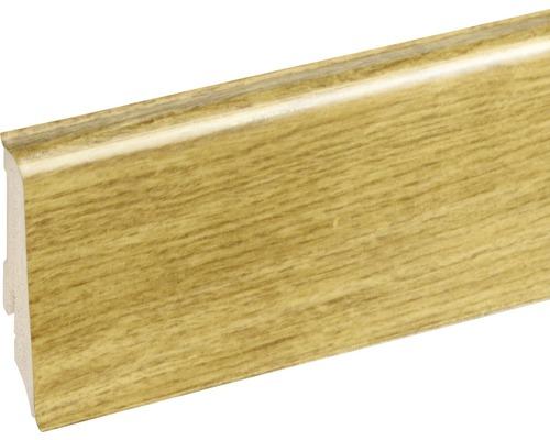 Podlahová lišta Neuhofer K0210L plastová 2400 x 59 x 17 mm EXEI101 dub champery