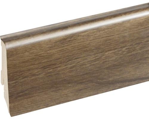 Podlahová lišta Neuhofer K0210L plastová 2400 x 59 x 17 mm EXEI106 golden oak hnědá