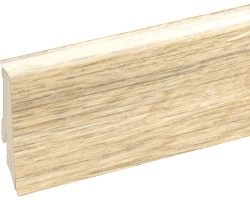 Podlahová lišta Neuhofer K0210L plastová 2400 x 59 x 17 mm EXEI107 golden oak honey