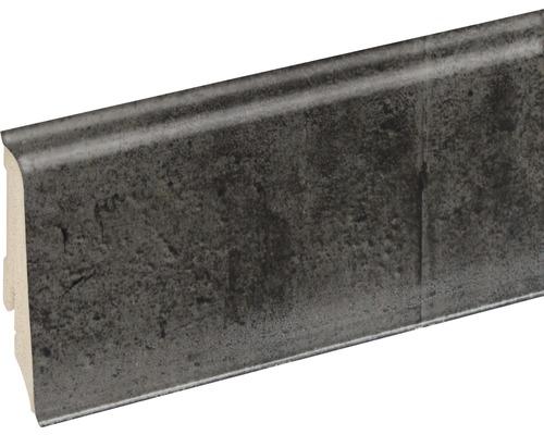 Podlahová lišta Neuhofer K0210L plastová 2400 x 59 x 17 mm EXFA060 stone roma