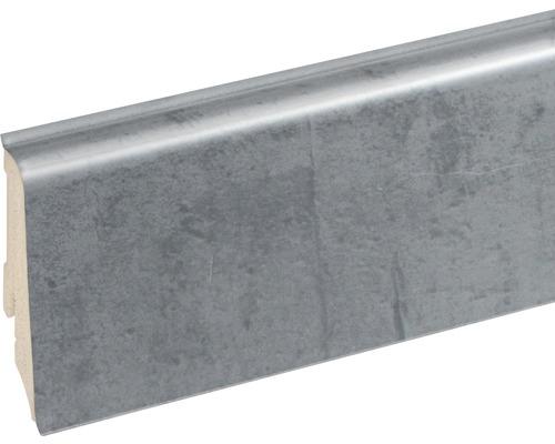 Podlahová lišta Neuhofer K0210L plastová 2400 x 59 x 17 mm EXFA064 stone sicily
