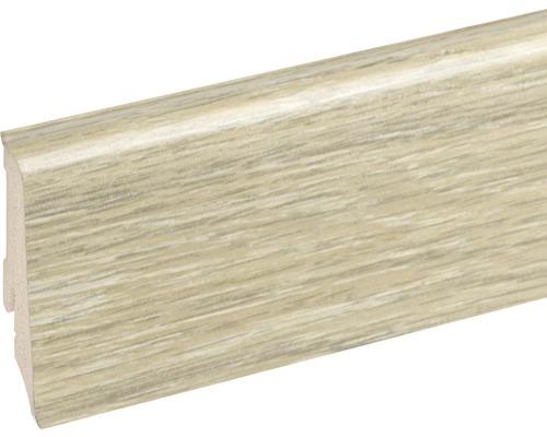 Podlahová lišta Neuhofer K0210L plastová 2400 x 59 x 17 mm EXEI115 dub saintes