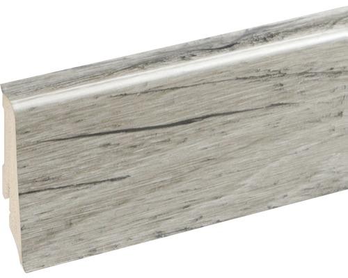Podlahová lišta Neuhofer K0210L plastová 2400 x 59 x 17 mm EXEI116 dub edinburgh
