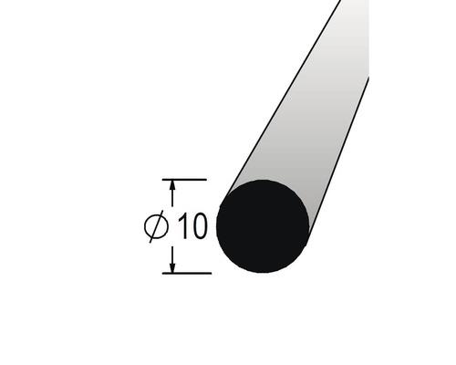 Lišta kruhová masivní 10 x 900 mm dub